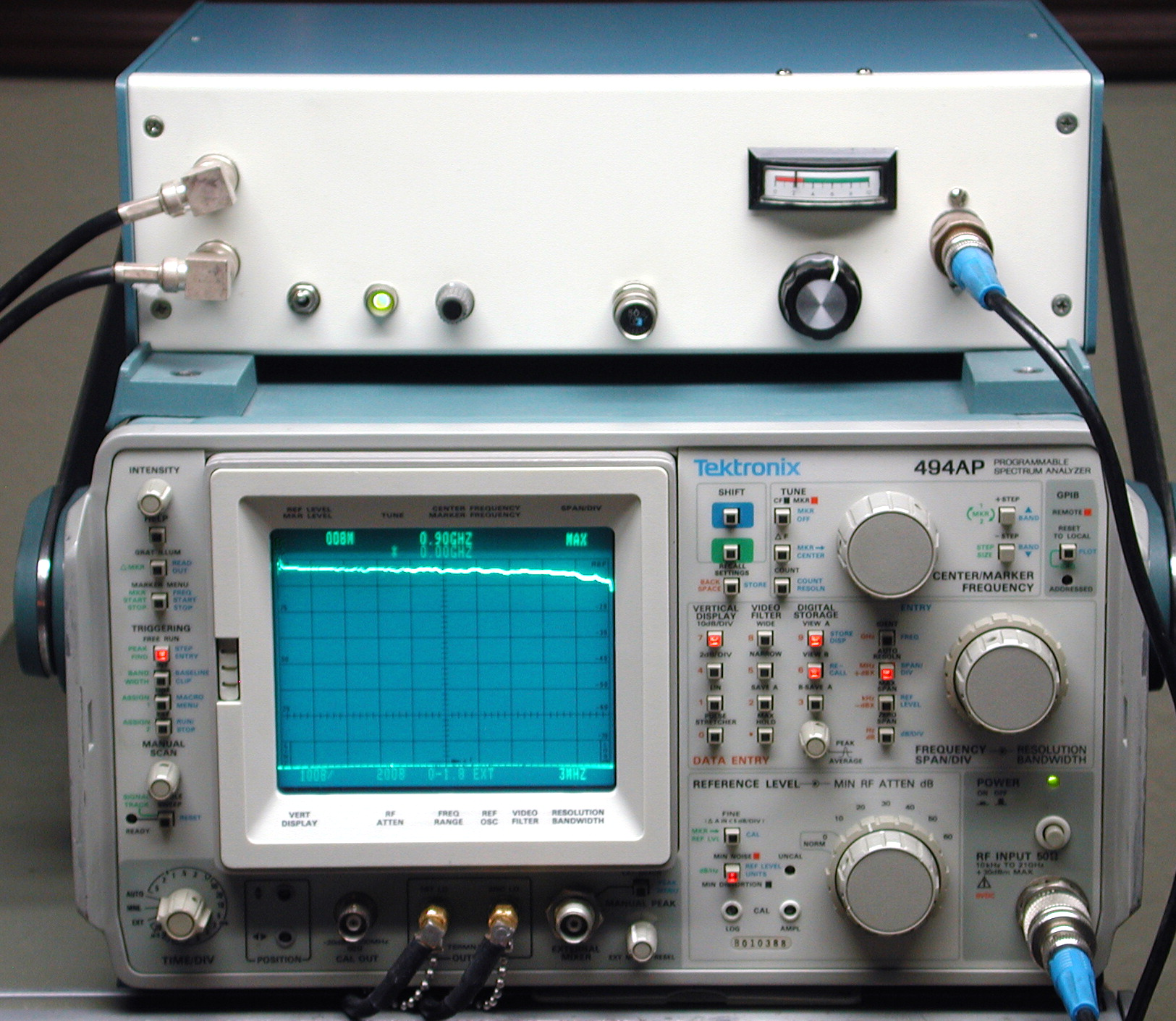 After spending most of the winter of 1998 bringing my newly-acquired  Tektronix 492 spectrum analyzer back from Murphy's door, my test-equipment  budget was ...